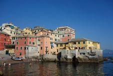Free Boccadasse Genoa Italy Stock Image - 94313971