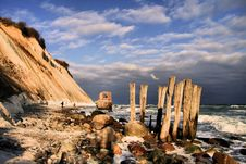 Free Shoreline Cape Town Stock Photography - 94313992