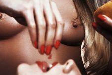 Free Lip, Close Up, Nail, Hand Stock Photography - 94316342
