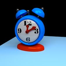 Free Blue, Clock, Alarm Clock, Product Design Stock Photography - 94316482