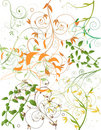 Free Abstract Flower Background Stock Photography - 9443022
