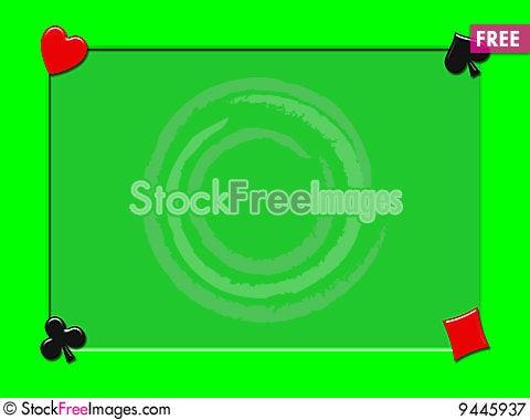 Poker photo frames