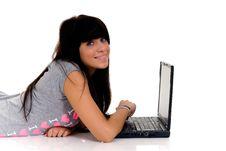 Free Teenager Schoolgirl Royalty Free Stock Photos - 9440228