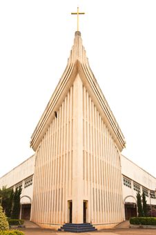 Free Catholic Church In Thailand Stock Images - 9441194