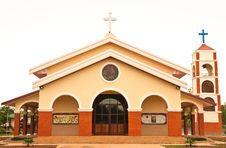 Free Catholic Church In Thailand Royalty Free Stock Photography - 9441307