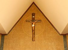 Free Decoration In Catholic Church In Thailand Royalty Free Stock Photography - 9441837