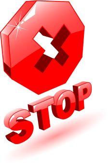Free Stop Symbol Stock Photo - 9442320
