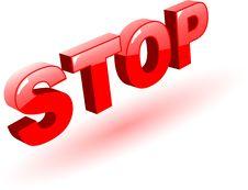 Free Stop Symbol Stock Image - 9442761