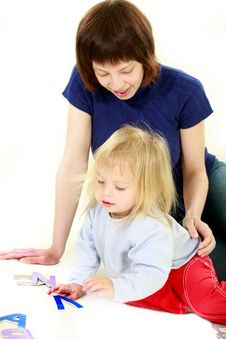 Free Mother And Daughter Portrait Stock Photos - 9442973