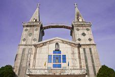 Free Catholic Church In Thailand Royalty Free Stock Photos - 9443148