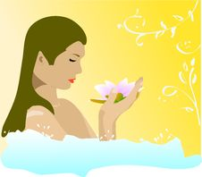 Free Beauty And Bath Stock Image - 9444501
