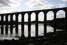 Royal Border Rail Bridge Royalty Free Stock Photo