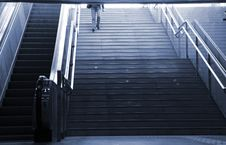 Free Escalator Royalty Free Stock Photos - 9448068