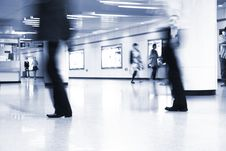 Free Subway Station Royalty Free Stock Image - 9448216
