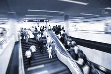 Free Escalator Royalty Free Stock Image - 9448226