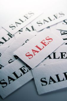 Sales Royalty Free Stock Image