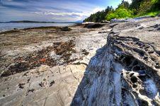Free Shoreline West Coast Stock Image - 9448961