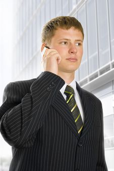 Free Talking On Phone Stock Photography - 9449302