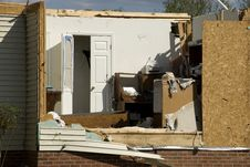 Free House Destroyed By Tornado Royalty Free Stock Photography - 9449367