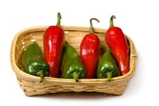 Free Red And Green Chili Stock Photography - 9449852