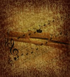 Free Grunge Music Background Royalty Free Stock Images - 9449859
