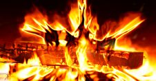 Free Fire, Flame, Heat, Bonfire Stock Photo - 94454610