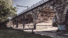 Free Negrelli Viaduct In Prague Stock Photo - 94484280
