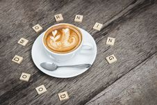 Free Good Morning Latte Royalty Free Stock Images - 94484339