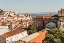 Free Tile Rooftops In Coastal City Royalty Free Stock Photo - 94484375