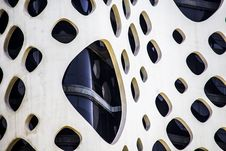 Free Modern Building Facade With Holes Stock Photo - 94484390