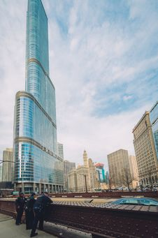 Free Trump Hotel In Chicago Stock Photo - 94484450