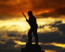 Free Sky, Silhouette, Cloud, Sunrise Stock Image - 94495351