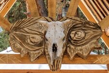 Free Cow Skull Royalty Free Stock Image - 94496796