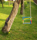 Free Swing For Kids Royalty Free Stock Photo - 9451085