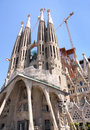 Free Sagrada Familia Cathedral In Barcelona Royalty Free Stock Photo - 9453105