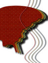 Free Textile Butterfly Royalty Free Stock Image - 9456856