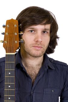 Free Closeup Of A Guitarist Royalty Free Stock Photography - 9450467