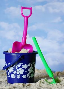 Free Beach Toys Royalty Free Stock Image - 9450816