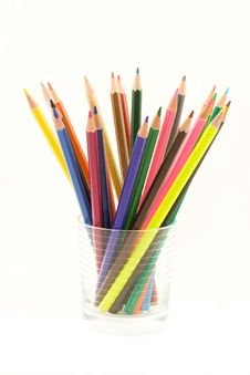 Free Color Pencils Royalty Free Stock Images - 9450989