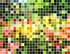 Free Bright Abstract Square Mosaic Background Royalty Free Stock Images - 9451709