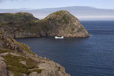 Free Iceberg Near The Shores Stock Photography - 9451952
