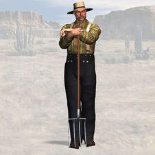 Free Farmer Royalty Free Stock Image - 9452276