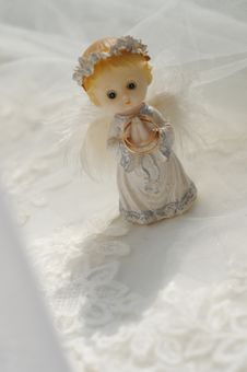 Free Figure Of A Small Angel Stock Photos - 9454133