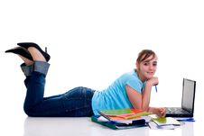 Free Teenager Schoolgirl Royalty Free Stock Photography - 9454637