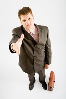 Business Man Handshake Stock Photography