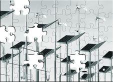 Free Alternative Energy Puzzle Royalty Free Stock Images - 9455329