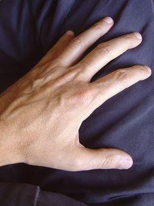 Free Hand On Pants Stock Photos - 9455963