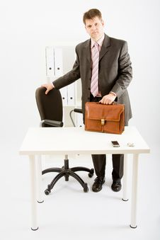 Free A Young Business Man Stock Photography - 9456922