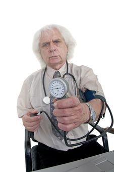 Free Blood Pressure Royalty Free Stock Photo - 9457705