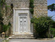 Free White Tunisian Door Stock Images - 9457944